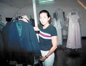 Alquiler de trajes en declive