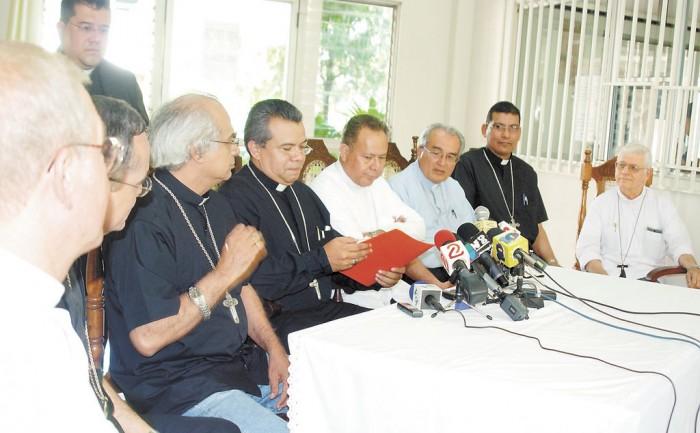 Obispos quieren un diálogo franco