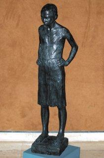Eva. Fundición en bronce, 1987. Marisel Jiménez Rittner. LA PRENSA/H. ESQUIVEL