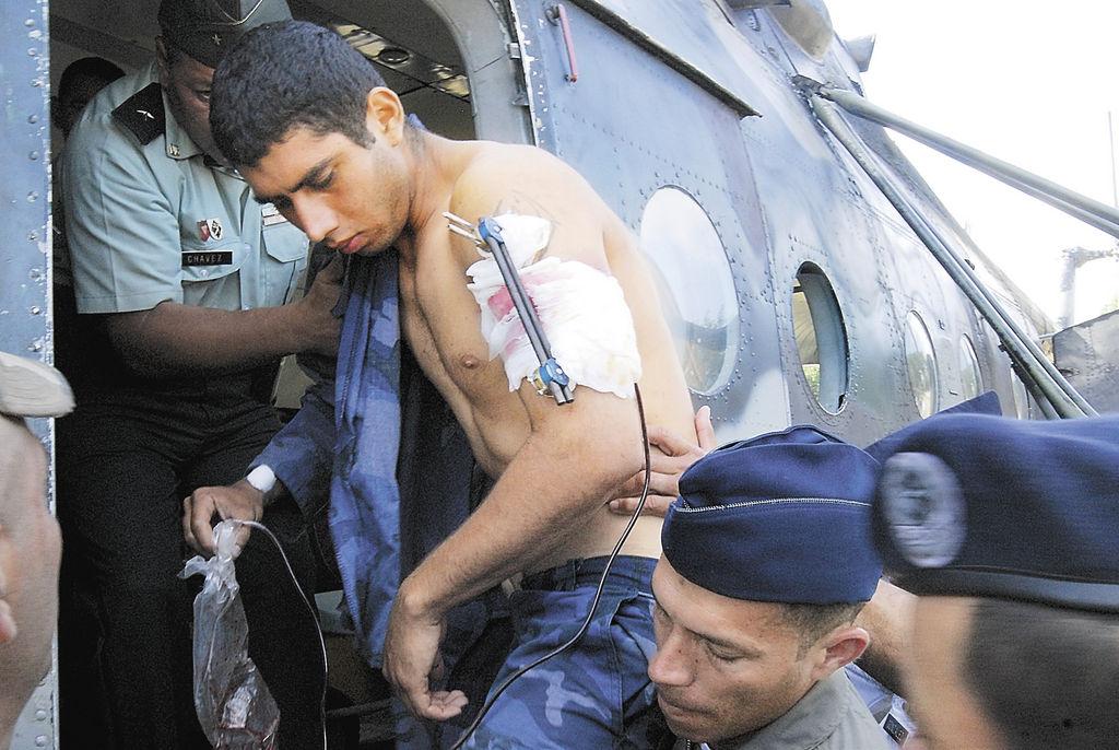 Además de los fallecidos, el Ejército y la Policía tuvieron varios heridos en sus filas, la tarde del lunes en Walpasiksa. LA PRENSA/G. MRANDA