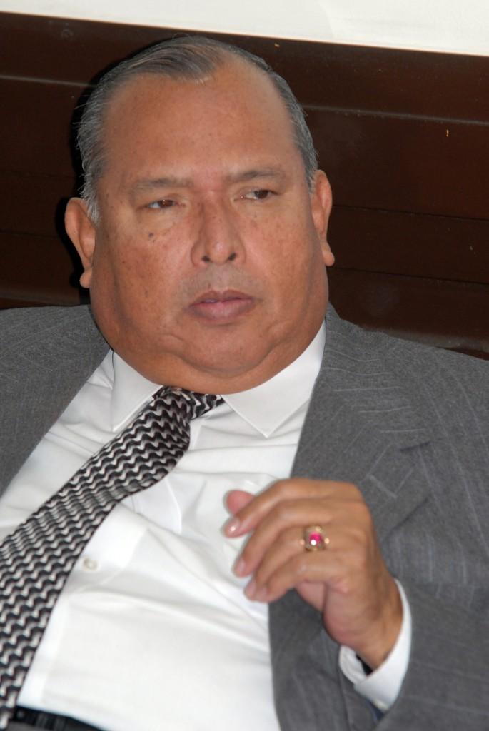 Manuel Martínez, magistrado presidente de la CSJ.