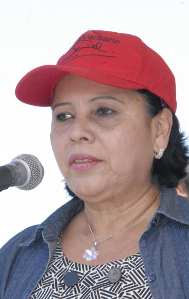 Daysi Torres, alcaldesa designada de Managua.