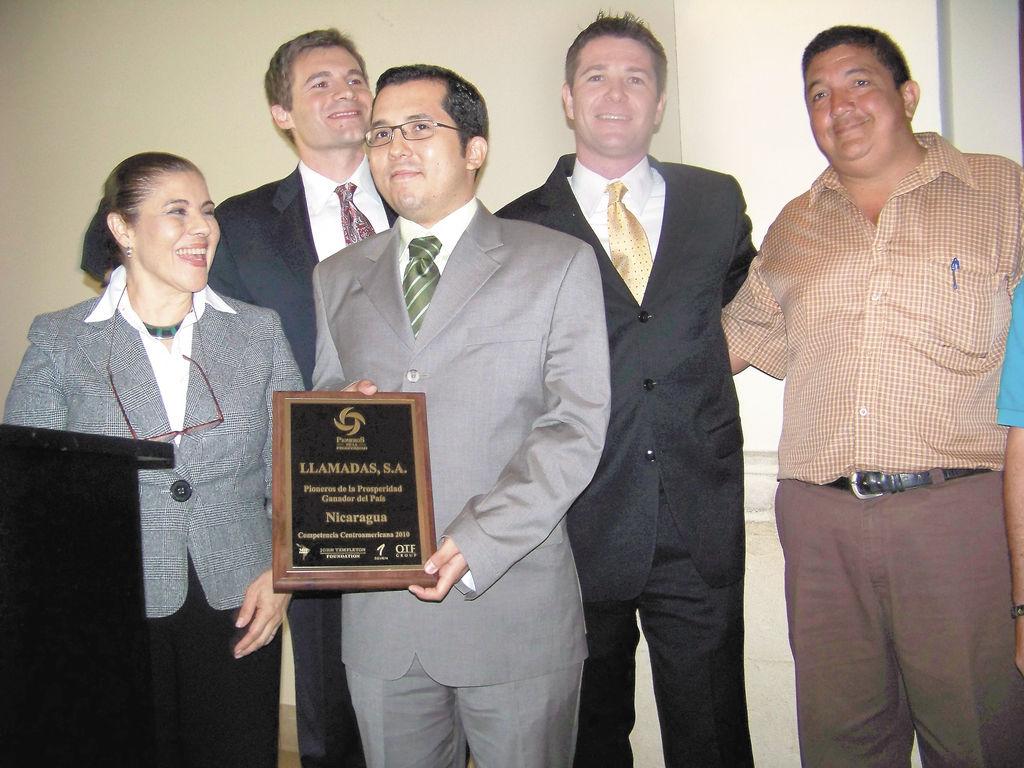 """La empresa Llamadas S.A. es la """"pionera de la prosperidad"""" de Nicaragua con mayor número de empleados. LA PRENSA/G. CANALES"""