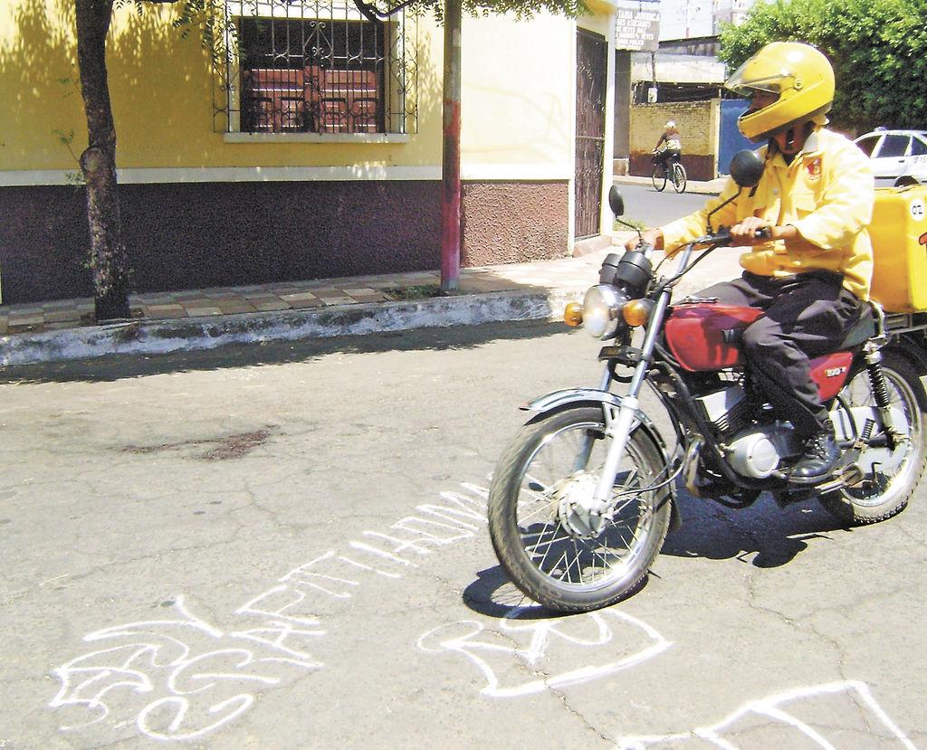 Éste es el sitio donde mataron al joven Carlos Sánchez el pasado jueves en Chinandega. LA PRENSA/S. MARTÍNEZ