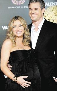 Eric Dane y su esposa, Rebecca Gayheart.
