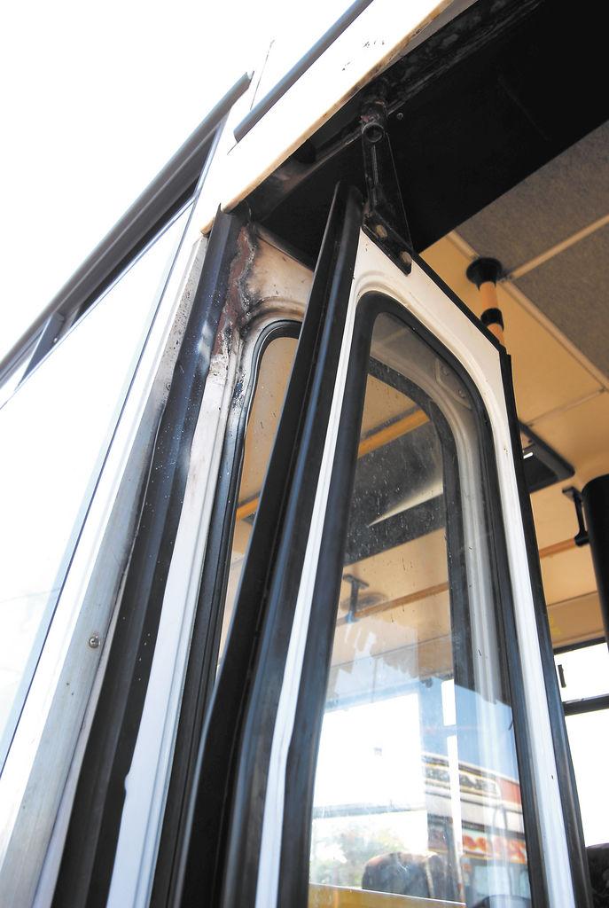 Las puertas también se dañan con rapidez. LA PRENSA/O. NAVARRETE