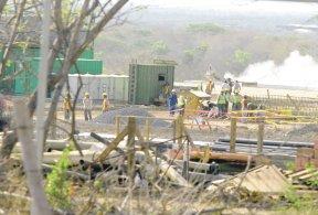 En el kilómetro 63 carretera a Puerto Sandino habrá un plantel de 40 megavatios. Más millones para Albanisa. LA PRENSA/ B. PICADO
