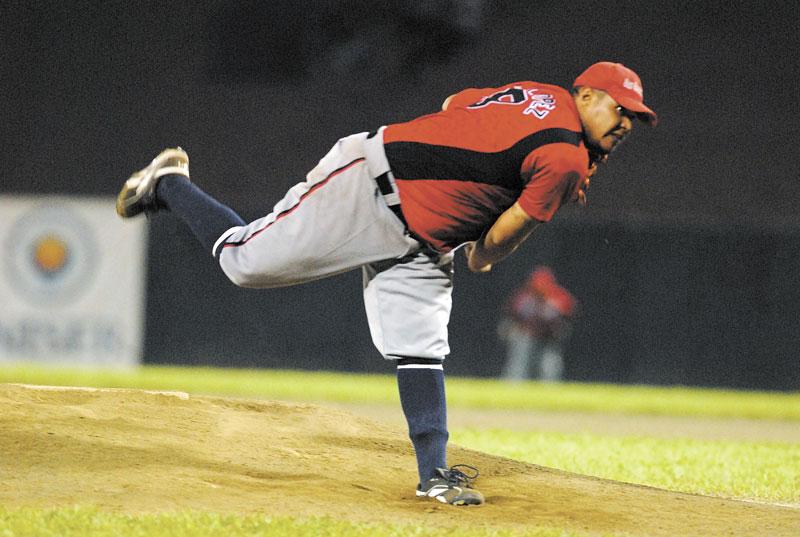 Gonzalo López estuvo imponente en la colina,con labor de seis entradas para dos hits y ninguna carrera, con nueve ponches. LA PRENSA/ARCHIVO