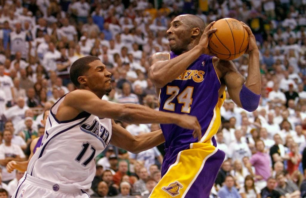 Kobe Bryant, de los Lakers de los Ángeles. LA PRENSA/AFP