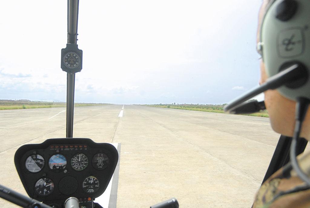 La pista aérea de Punta Huete, construida en los años 80, fue habilitada y sobre ella pueden aterrizar aviones de gran capacidad de carga, como los AN-124 y los C-5 Galaxy, de fabricación rusa y Estados Unidos, respectivamente. LA PRENSA/ O. NAVARRETE