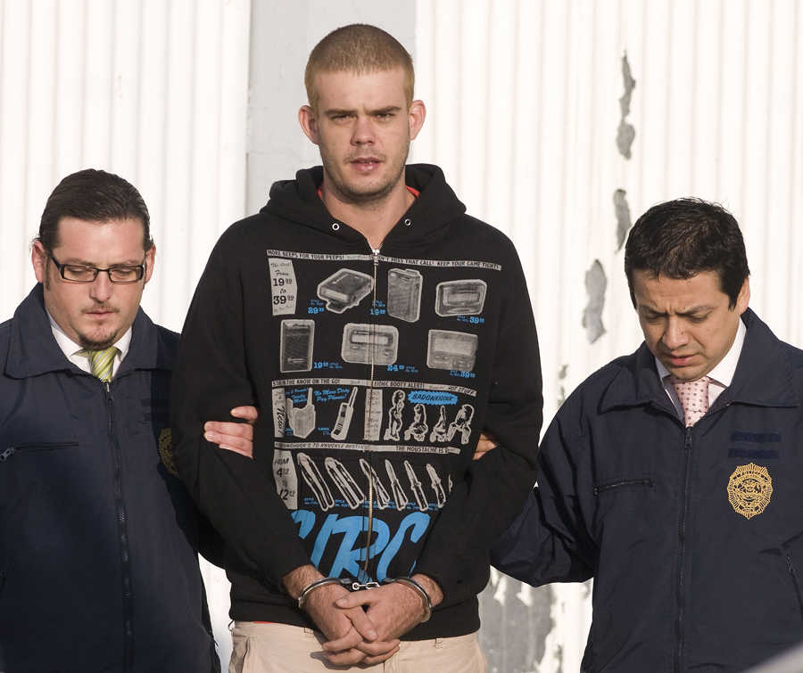 Joran Van der Sloot, confesó hoy el Lima haber asesinado a golpes a la joven peruana Stephany Flores. LA PRENSA/AFP