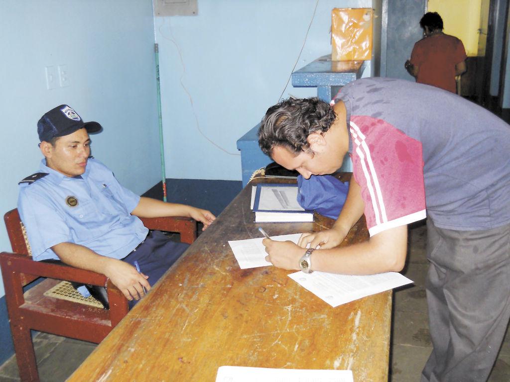 Otros periodistas de la ciudad de Rivas sí recibieron el boletín de la Policía, no así LA PRENSA. LA PRENSA/R. VILLARREAL