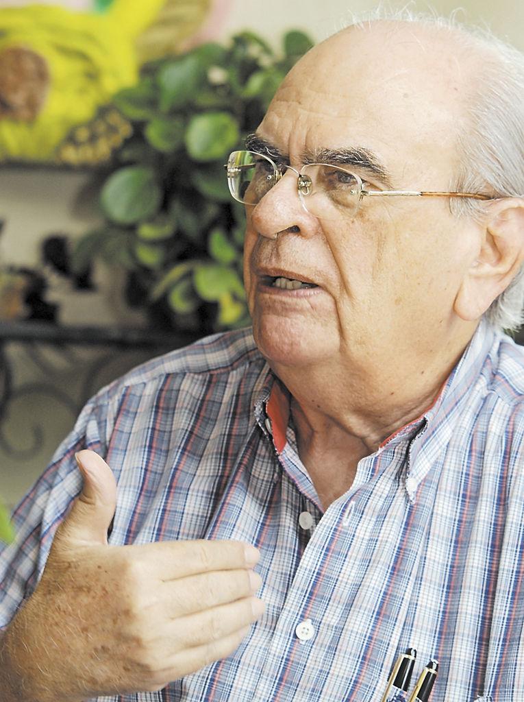 Fabio Gadea Mantilla. LA PRENSA/H. ESQUIVEL