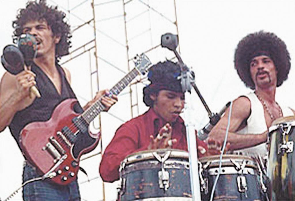 """La percusión de Santana ejecutada por """"Chepito"""" Areas abrió el concierto de Woodstock, considerado el más grande concierto en la historia del rock . """"Yo estuve allí, fui el único nicaragüense"""", afirma Areas."""