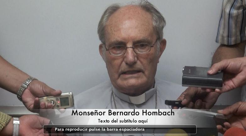 Hombach responde a comentarios de Roberto Rivas