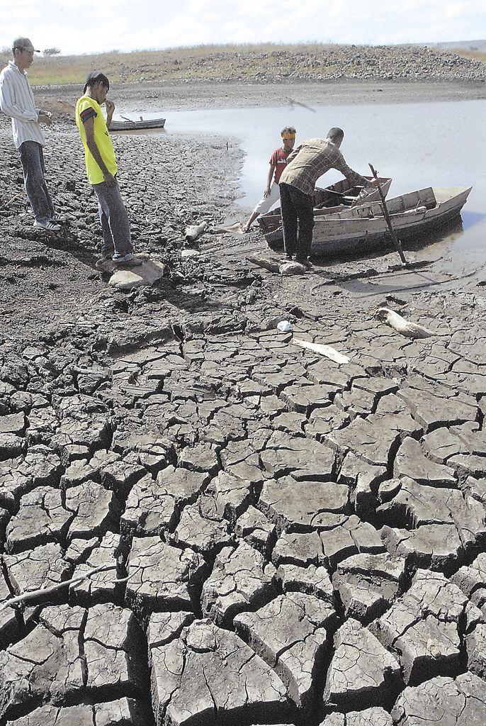 La sequía de este año provocó  afectaciones en los municipios más secos del país, ubicados en el Centro y Occidente. LA PRENSA/ARCHIVO R.ORTEGA