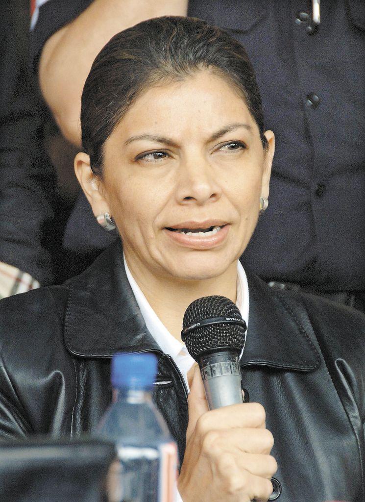 Laura Chinchilla.LA PRENSA/ARCHIVO