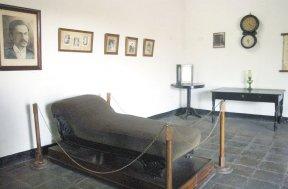 Museo archivo rubén Darío que guarda algunas pertenencias  del poeta.  LA PRENSA/ARCHIVO.