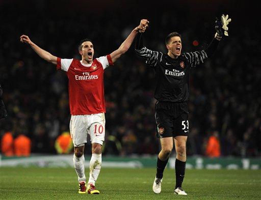 Arsenal frena al Barsa