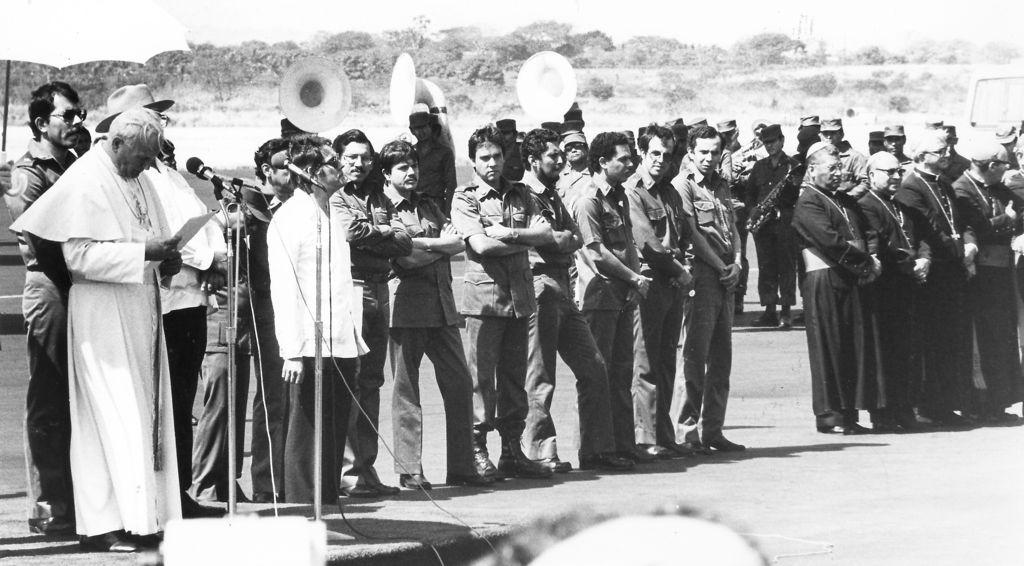 Rotativa de LA PRENSA bombardeada en 1979. LA PRENSA/ ARCHIVO