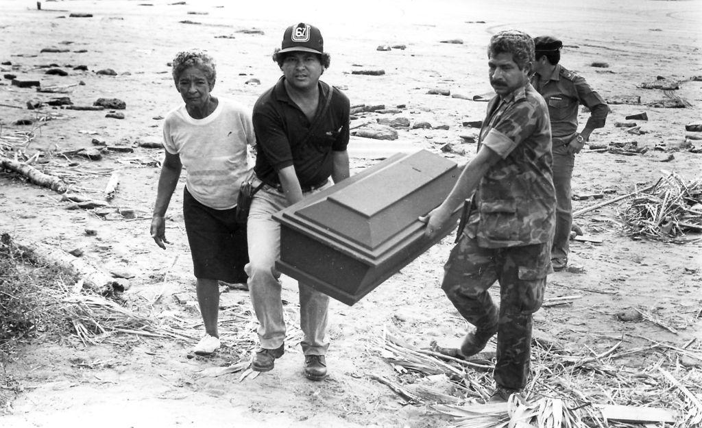 Primera visita de su santidad Juan Pablo II a Nicaragua 1983. LA PRENSA/ ARCHIVO