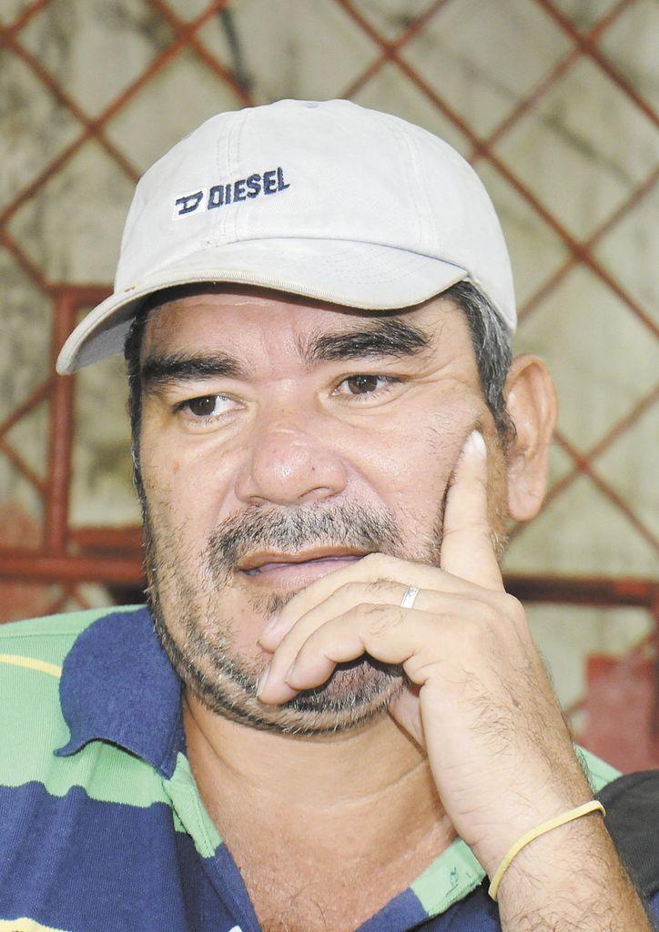 Bertoldo López.  LA PRENSA/ R. ORTEGA.