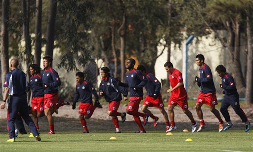Costa Rica se prepara para su segundo partido en la Copa America