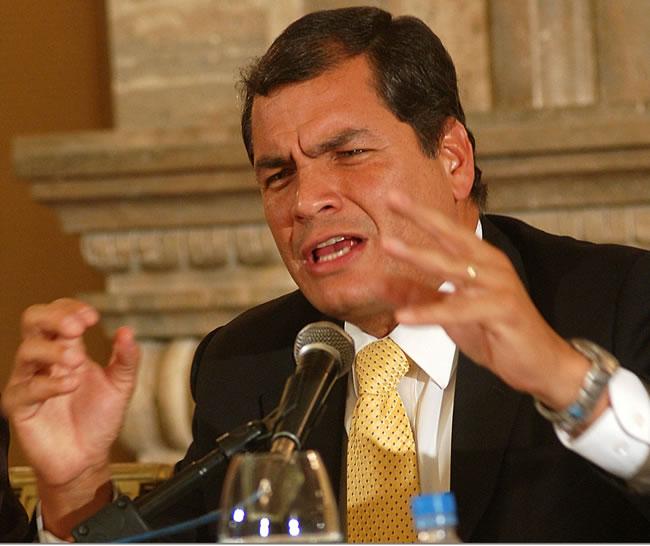 Correa pedirá a la ONU y a la Unasur que investiguen motín de 2010