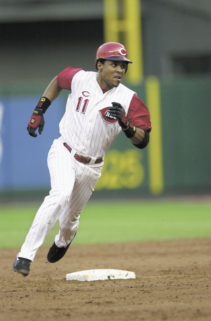 Barry Larkin, quien jugó toda su carrera con Cincinnati,  es el candidato más sólido para entrar este año al Salón de la Fama del beisbol. LA PRENSA/ARCHIVO