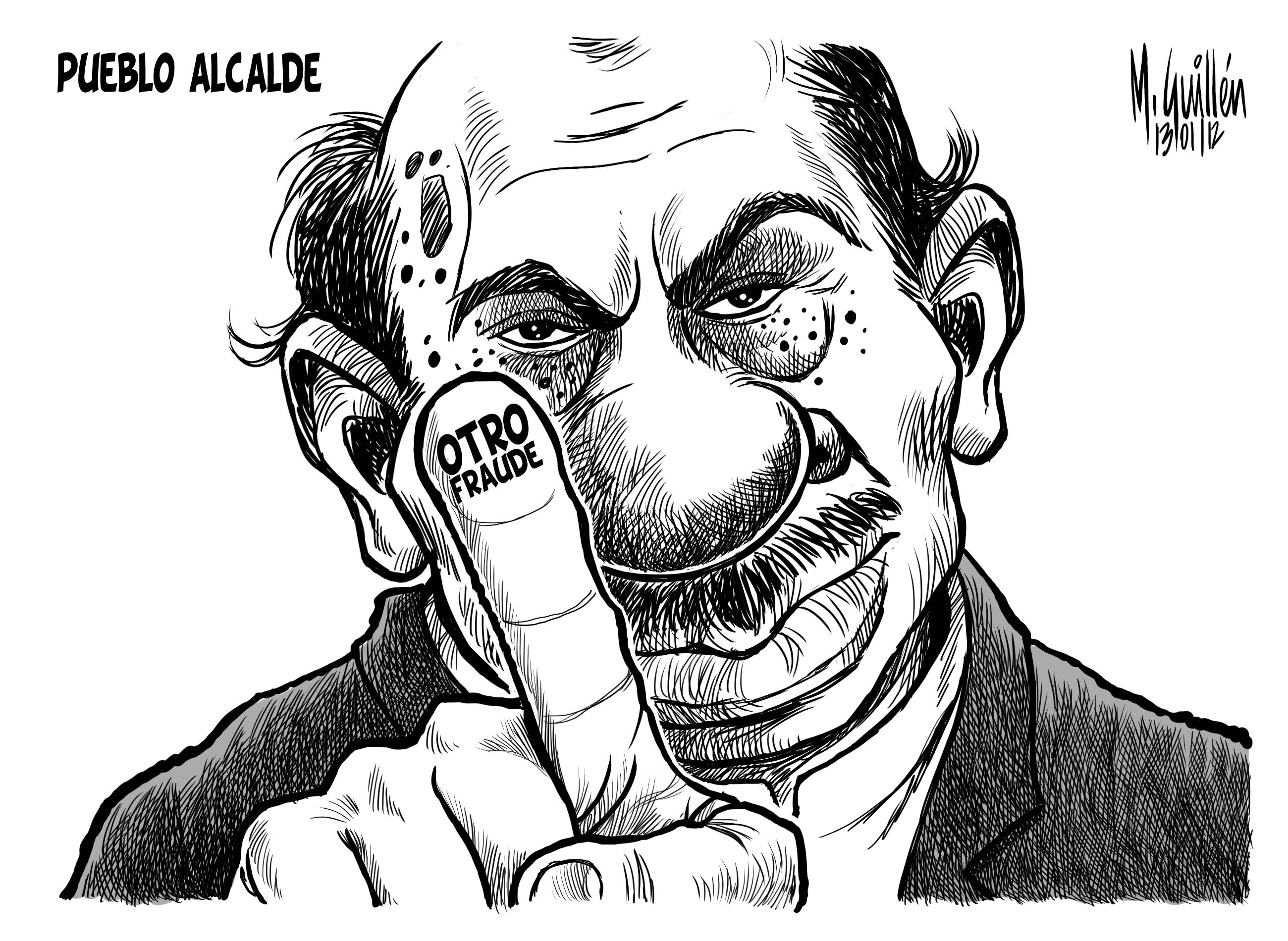 Caricatura Del Dia – 2012-01-14