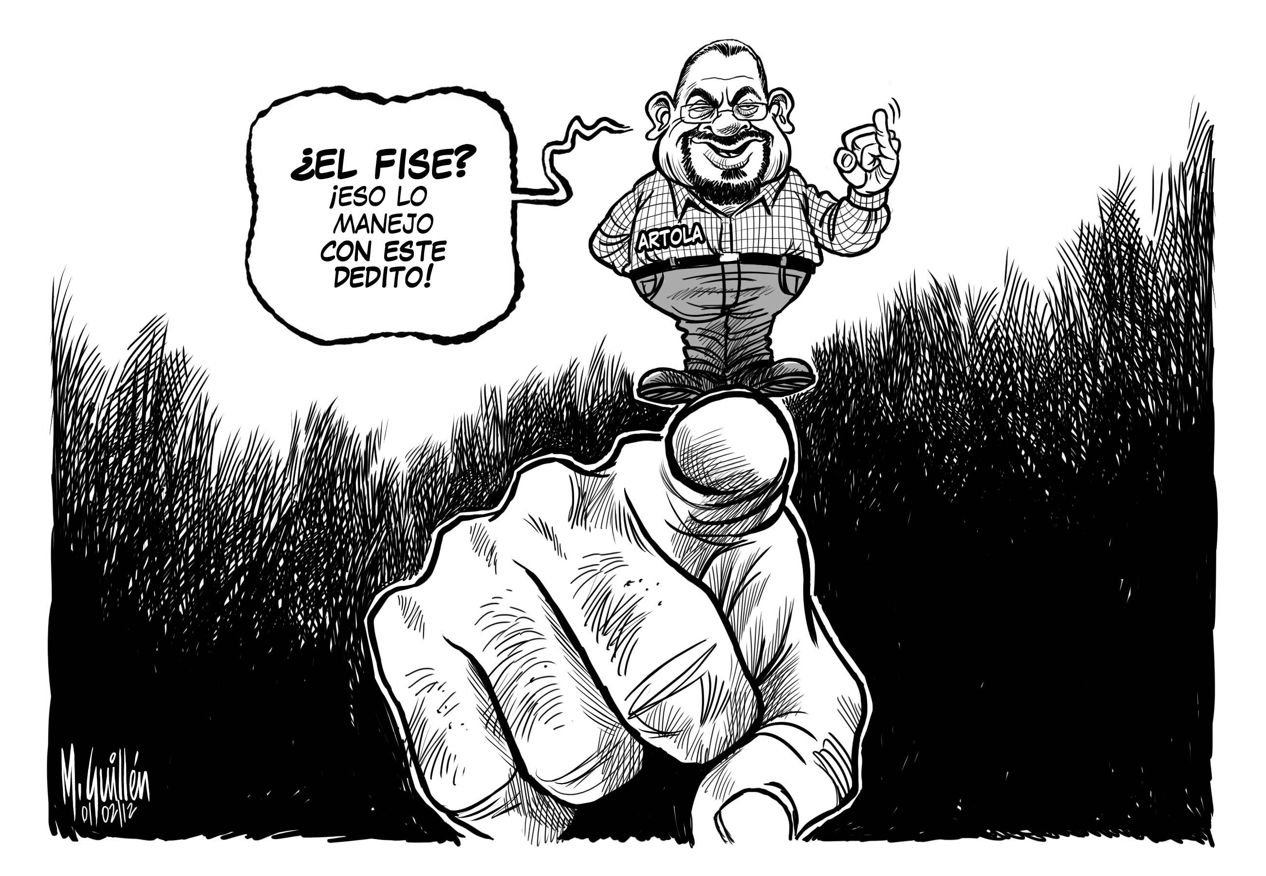 Caricatura Del Dia – 2012-02-02