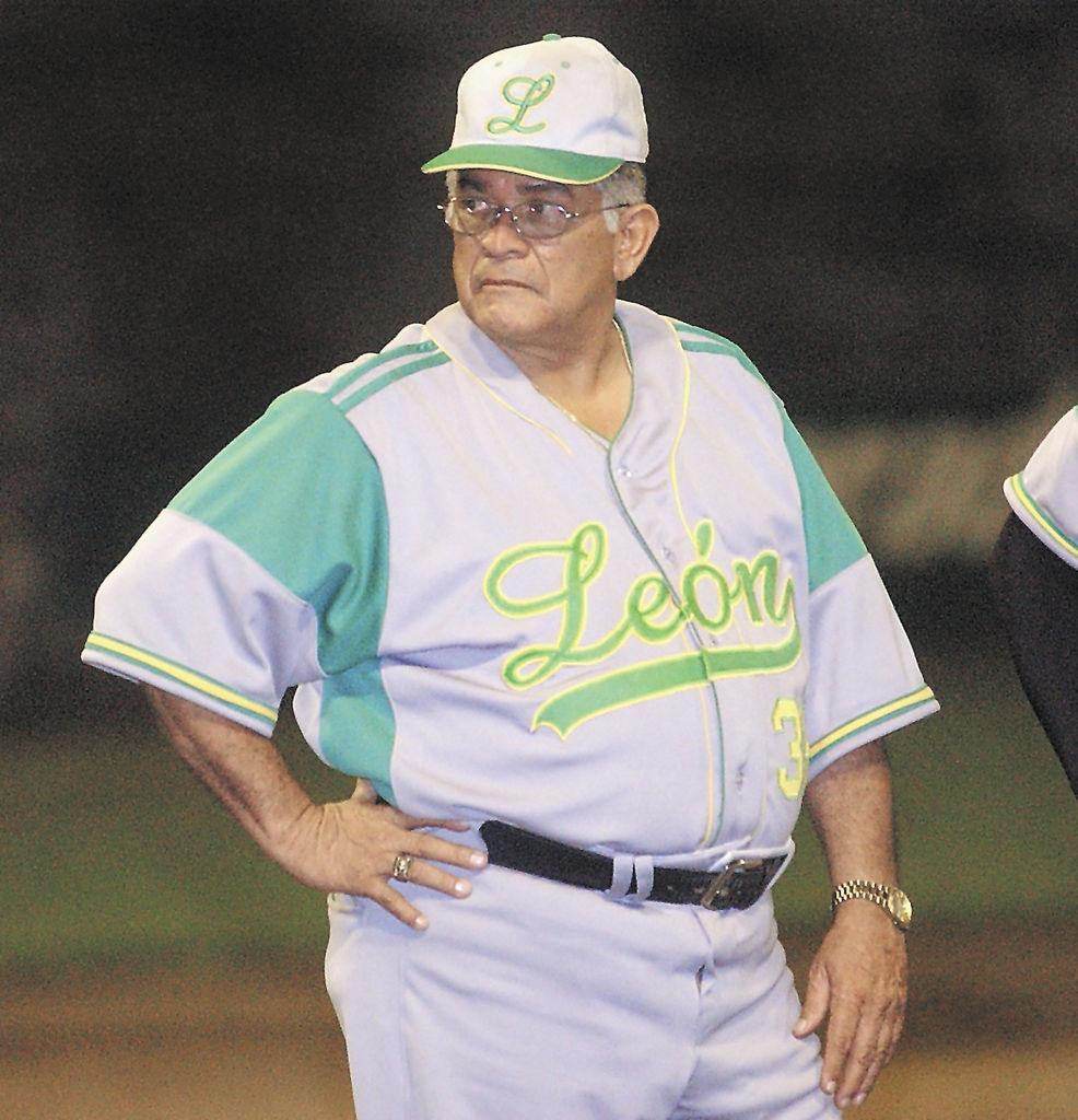 Noel Areas,  el más exitoso timonel en la historia del beisbol nacional.  LA PRENSA/ARCHIVO/M. LORÍO