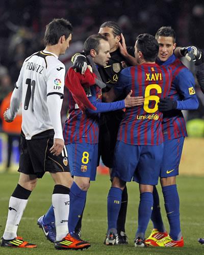 El Barcelona gana al Valencia y accede a la final de la Copa del Rey