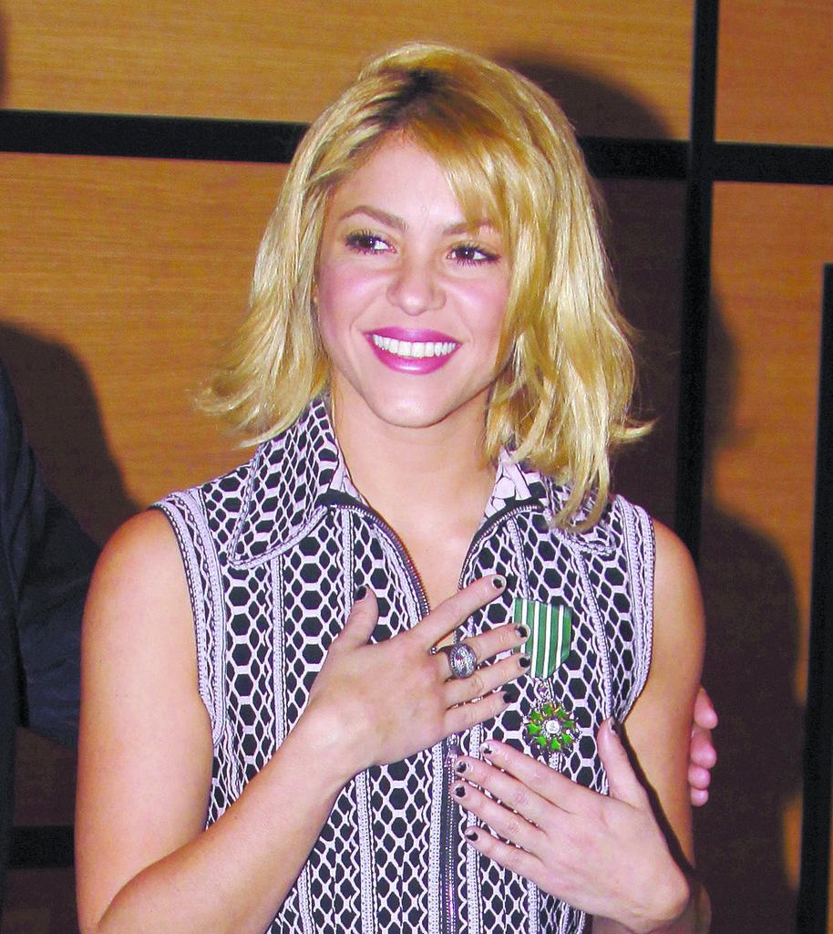 Shakira atacada