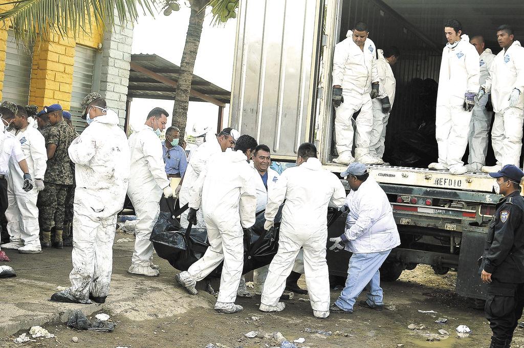 Identificados 60 cuerpos de 359 muertos en cárcel hondureña