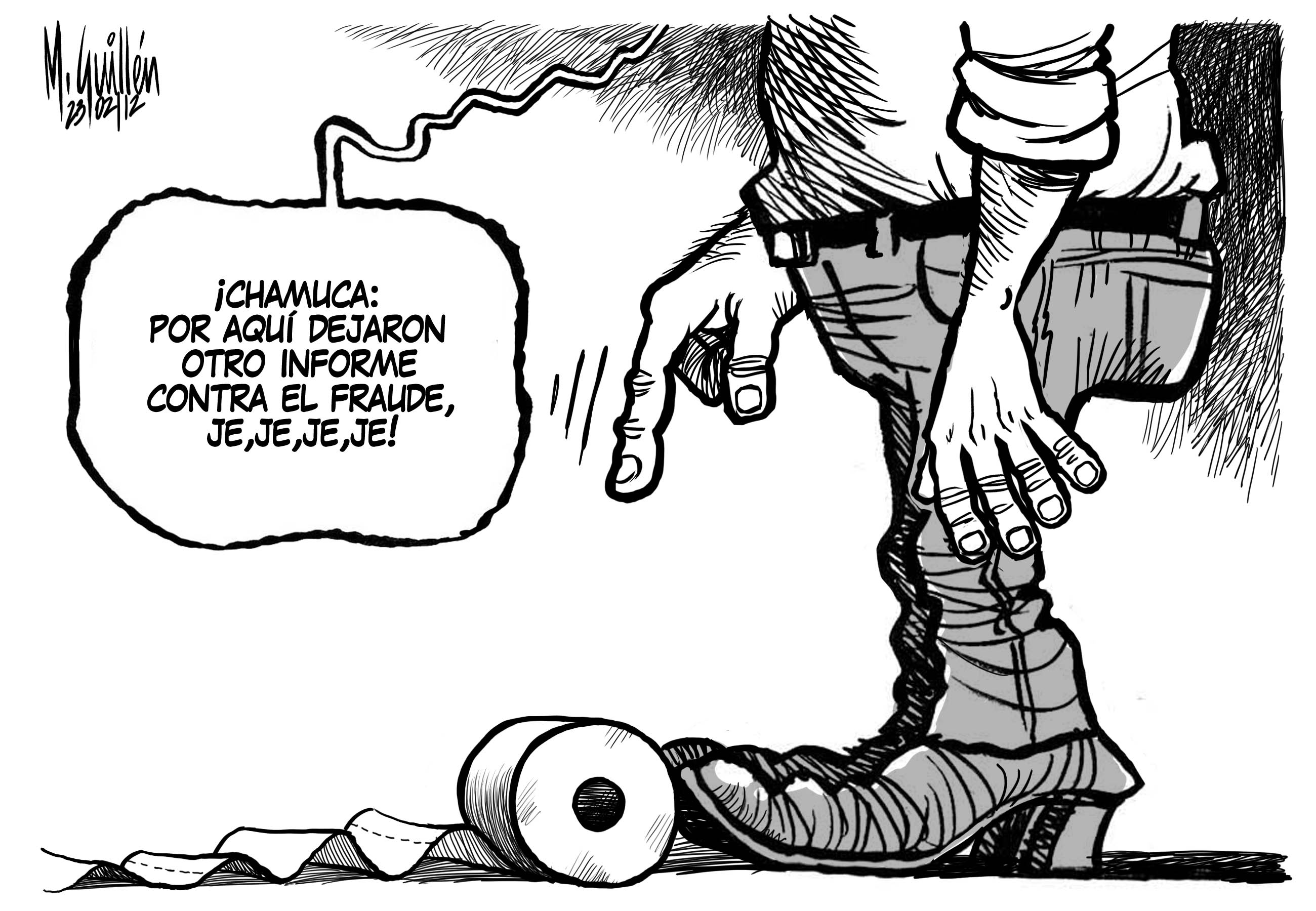 Caricatura Del Dia – 2012-02-24