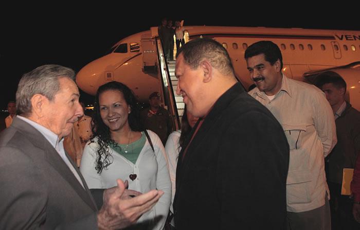 Silencio absoluto en Cuba sobre Chávez
