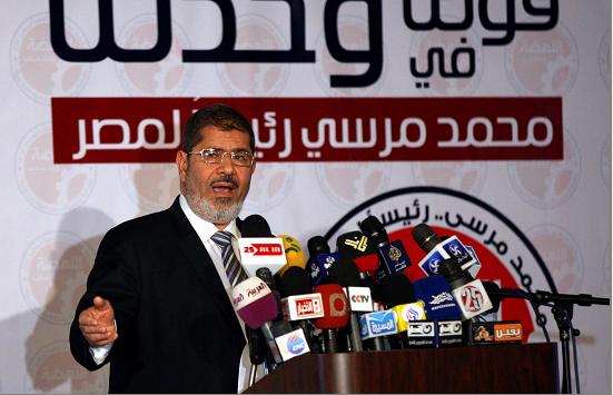 Comunidad internacional tiende la mano a Mursi