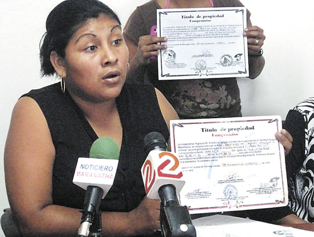Los afectados  por exmilitares   demandaron a las autoridades que revisen lo que pasa. LA PRENSA/CORTESÍA CPDH