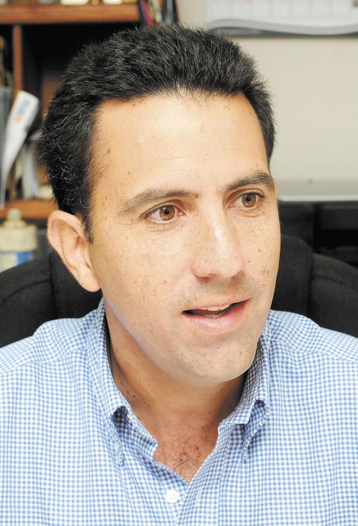Benjamín  Lanzas,  presidente de la Cámara de la Construcción. LA PRENSA/C. HERRERA