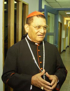 Cardenal dice a medios oficialistas estar bien de salud