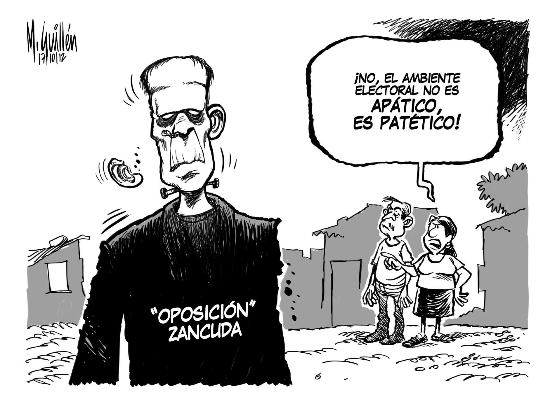 Caricatura Del Dia – 2012-10-18