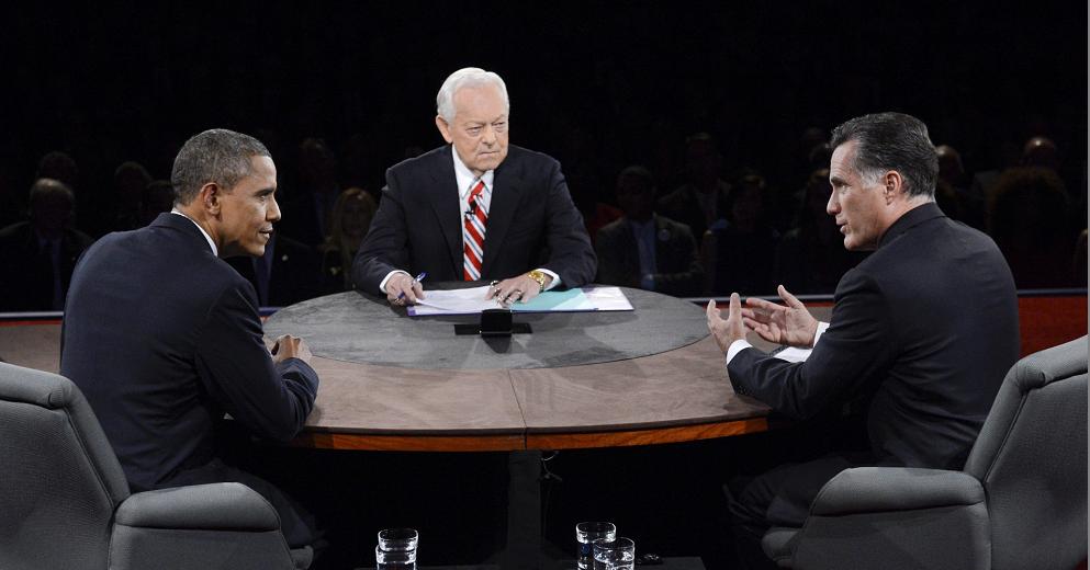 Comienza último debate entre Obama y Romney
