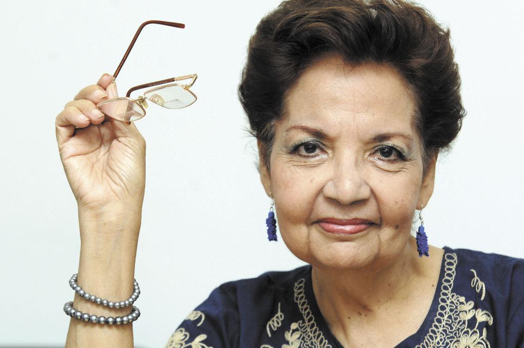 Irene López  es una de las abanderadas por el rescate del folclor.  LA PRENSA/ARCHIVO