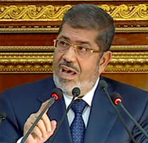 Mursi partidario de juzgar a Asad por crímenes de guerra