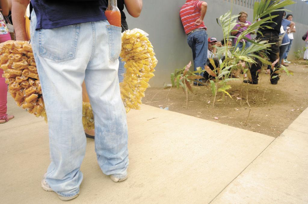 Vendedores ambulantes dañan áreas verdes