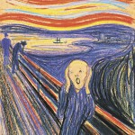 El grito,  pintura  de  Eduard Munch en 1893, una de sus obras fundamentales y del expresionismo alemán. LA PRENSA/ARCHIVO.