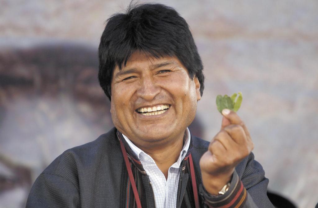 Festejan la caída de Morales