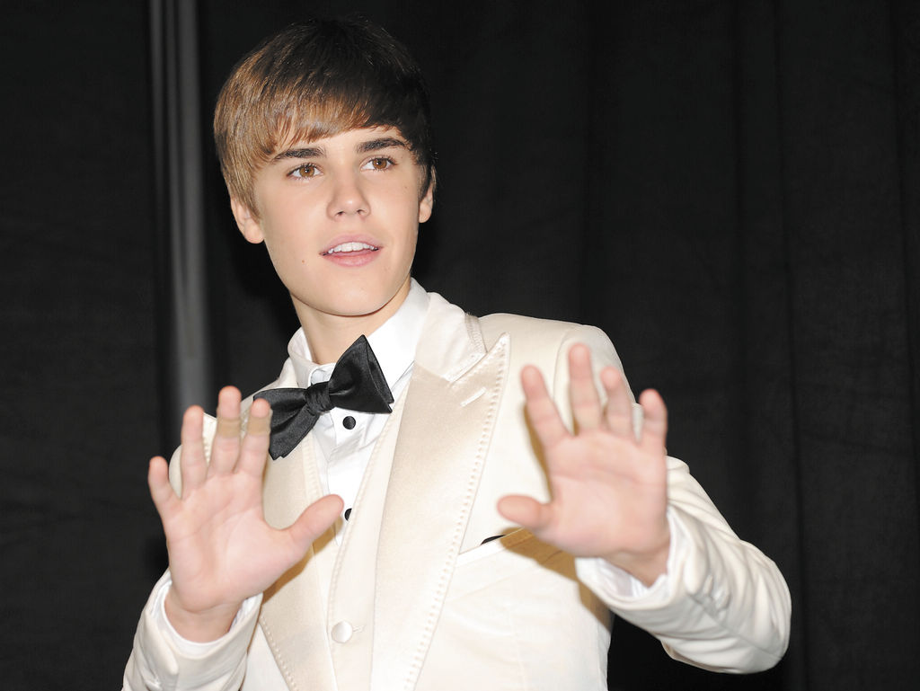 Bieber, el tuitero más seguido