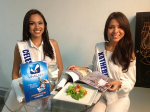 Celeste y Katherine candidatas a Miss Nicaragua 2013. LA PRENSA